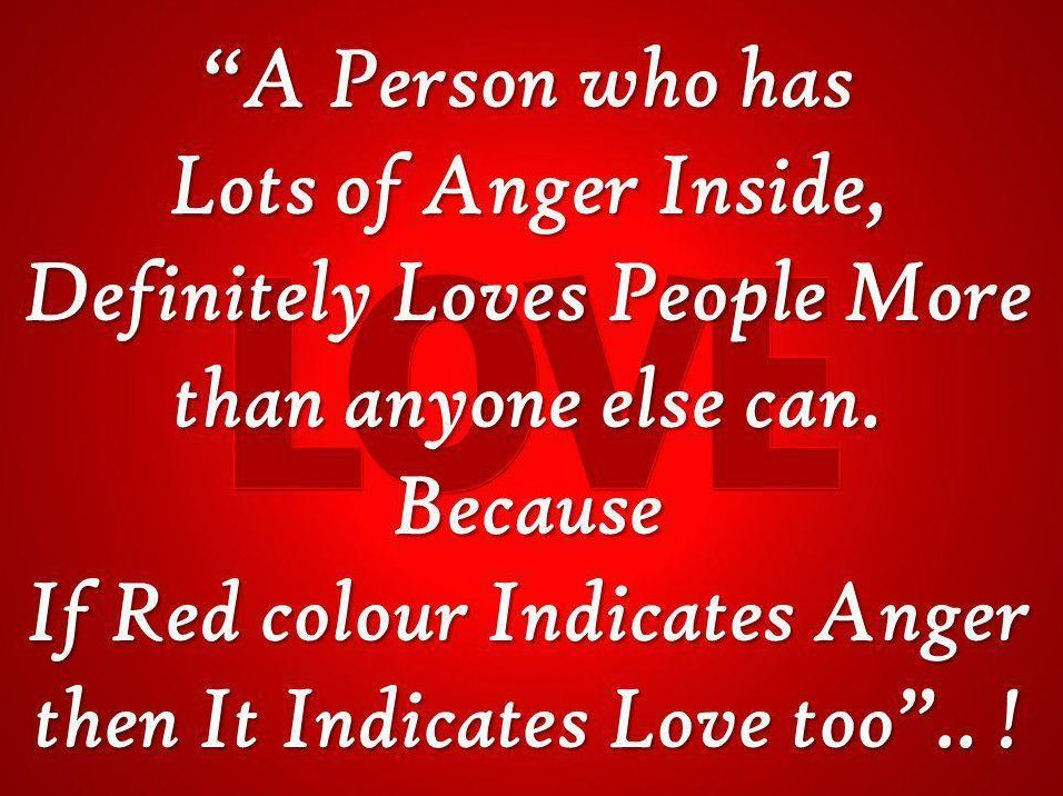 Quotes About Anger To Love 155 Quotes