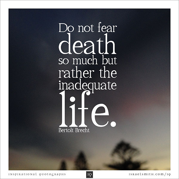 my uncles death changed my life My life is short i forget the meaning of life as i ride the mundane, monotonous waves of existence right until i will, eventually, breathe my last i'd never know what life truly means, until my.