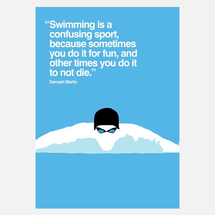 Quotes about Swim Team (27 quotes)