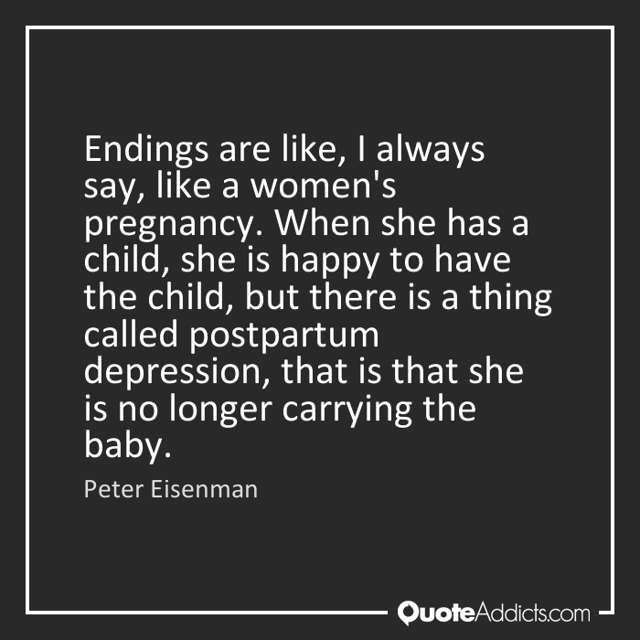 Quotes about Postpartum depression (31 quotes)