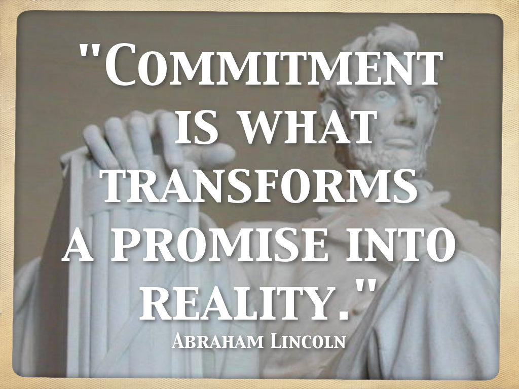 quotes about commitment quotes
