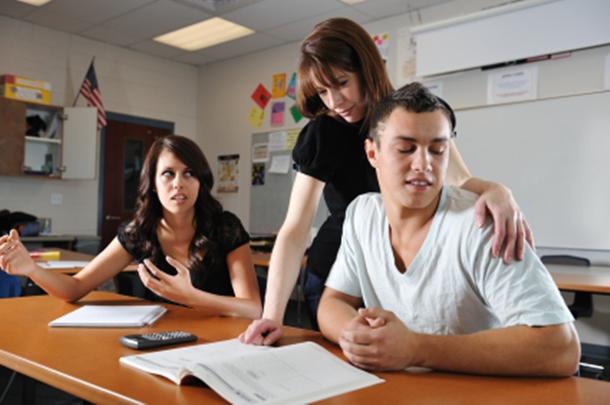 Teacher student hot
