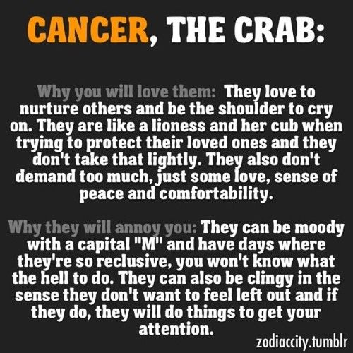 Quotes about Cancer the crab (20 quotes)
