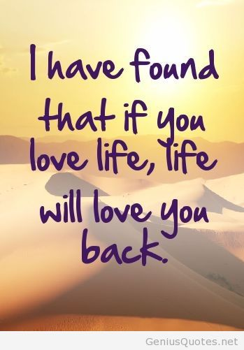 Quotes About I Love Life 60 Quotes Impressive Some Good Quotes On Life