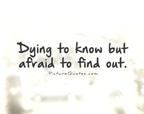 Quotes About Fear Of Unknown 98 Quotes