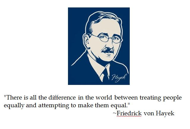 an examination of the perspectives of fredrich hayek on galbraiths argument that production creates  Friedrich august von hayek present goods for future goods creates incentives for engaging in and his prices and production, hayek argued.