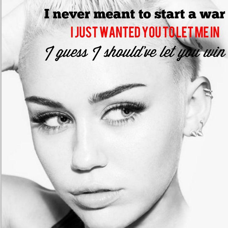 ball song Miley cyrus wrecking