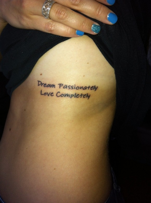 Quotes about Tattooing Your Body (22 quotes)