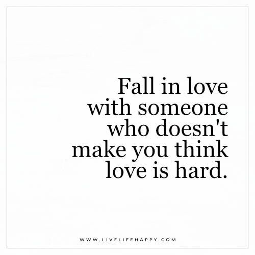 Fall in quotes do people why love People only