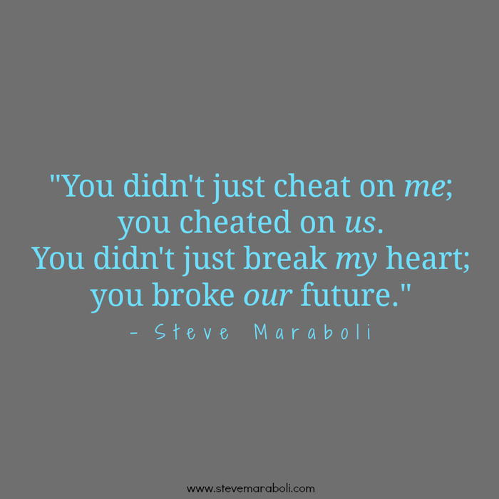 Quotes about Cheating On Me (37 quotes)
