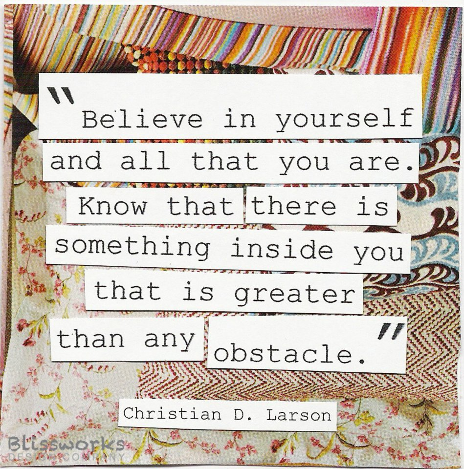 Quotes about Believe In Yourself 495 quotes