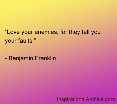 Quotes About Loving Your Enemy 22 Quotes