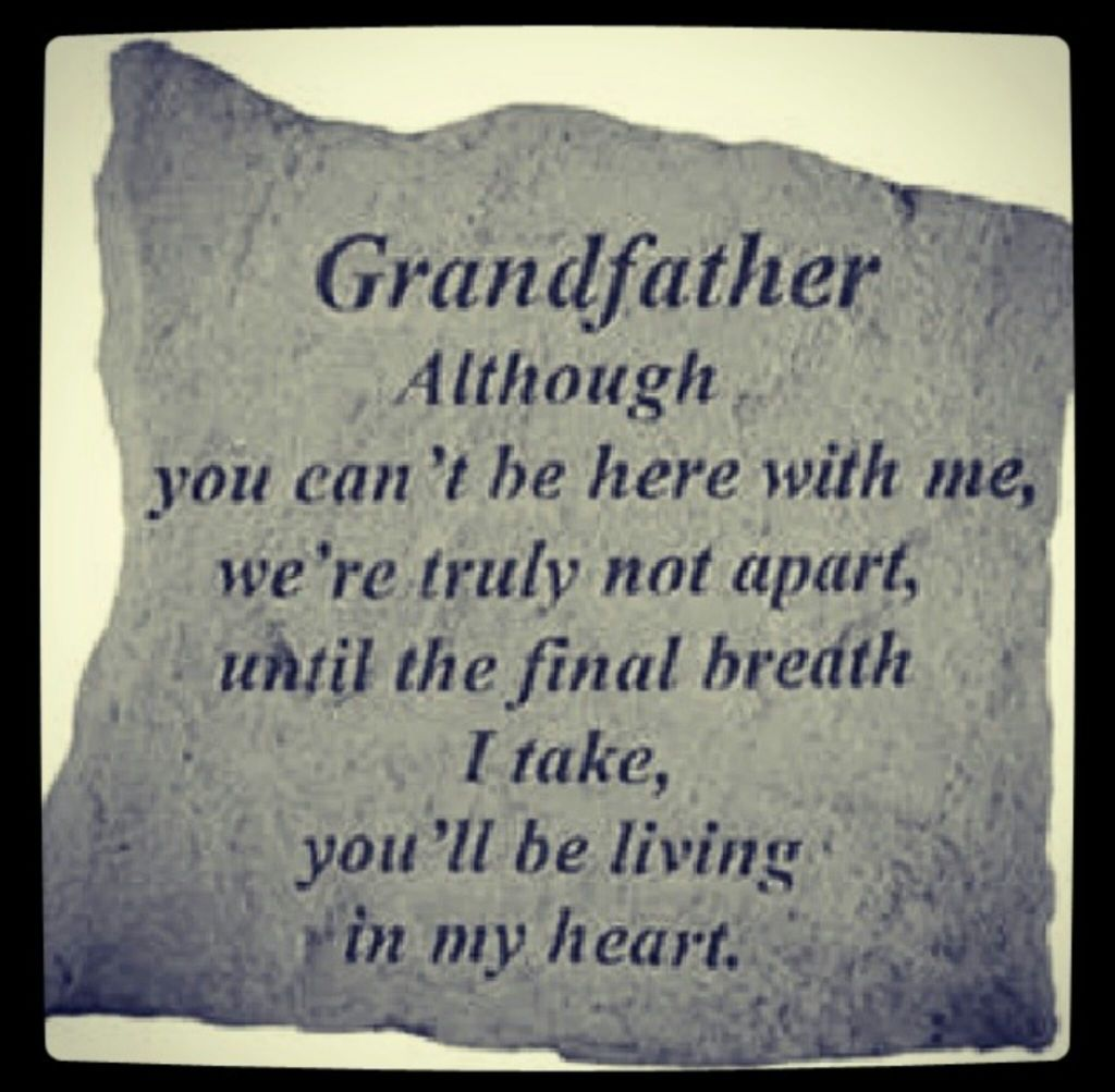 Happy Birthday And Rest In Peace Quotes: Quotes About Lost Grandpas (26 Quotes