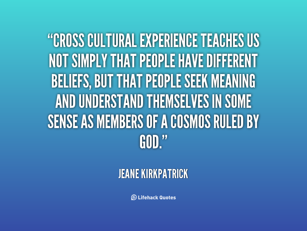 quotes about experiencing another culture quotes