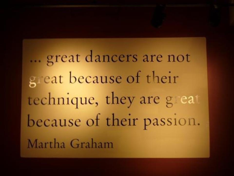 Quotes About Passion Of Dance 38 Quotes