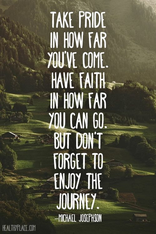 Quotes About Enjoying The Journey 38 Quotes