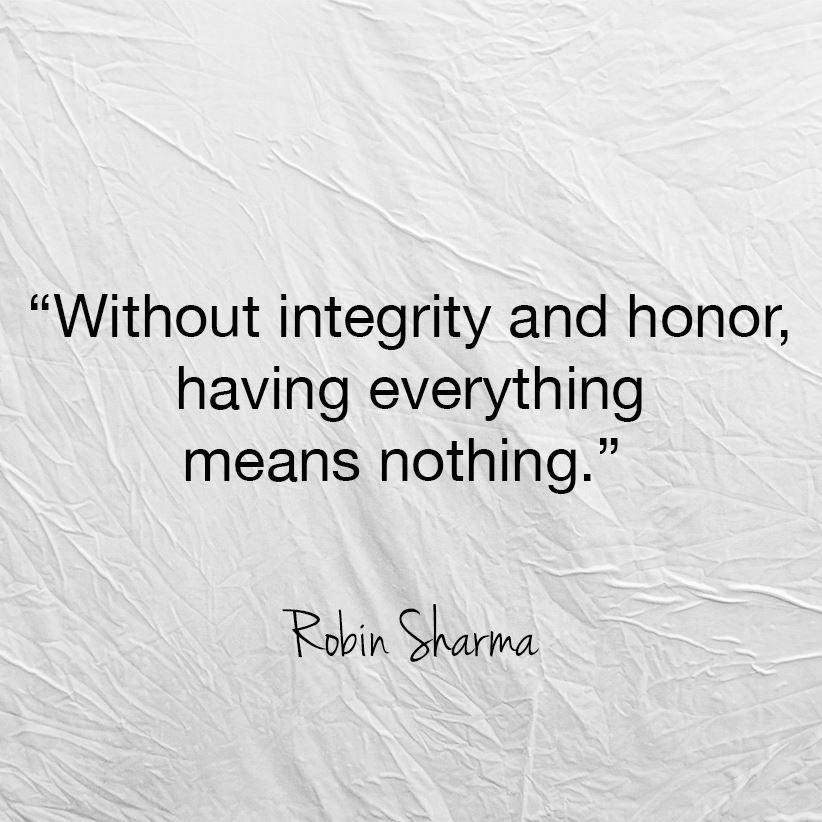"""integrity and honor essay Honor uploaded by ajordan14777 on oct 05, 2005 according to merriam-webster honor is defined as """"a keen sense of ethical conduct: integrity"""" but what does this really mean."""