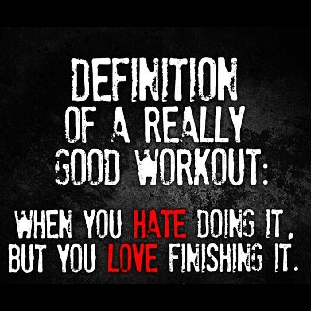 Quotes about Good Workout (58 quotes)