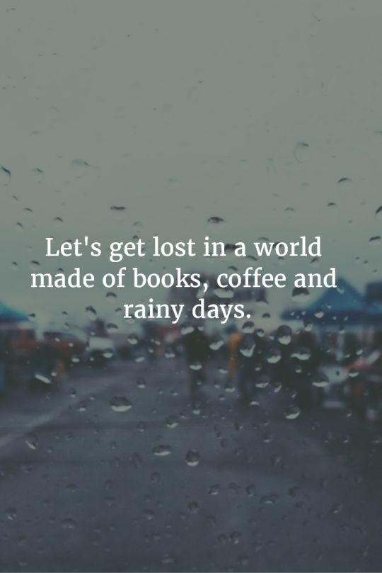 quotes about coffee and rain quotes