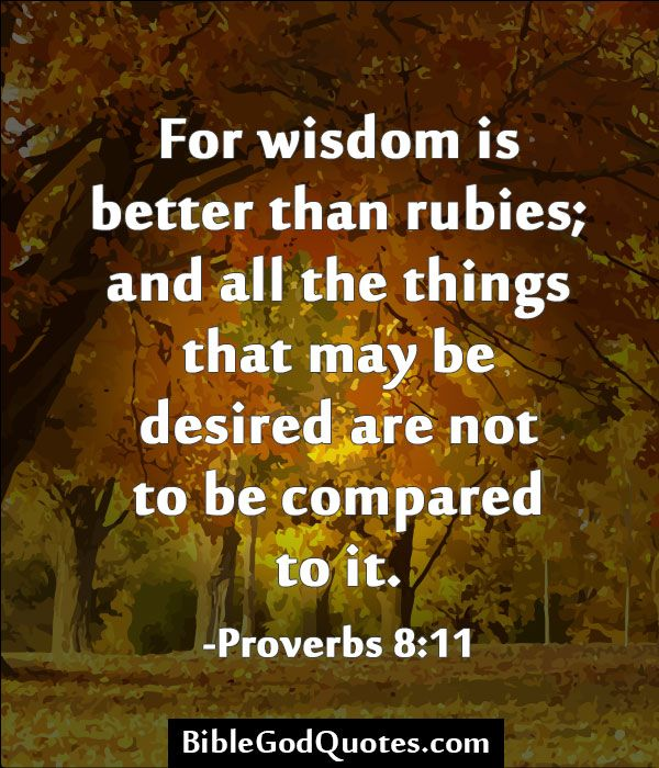 Quotes About Wisdom In The Bible (33 Quotes