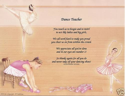 Quotes about Ballet Teachers (30 quotes)