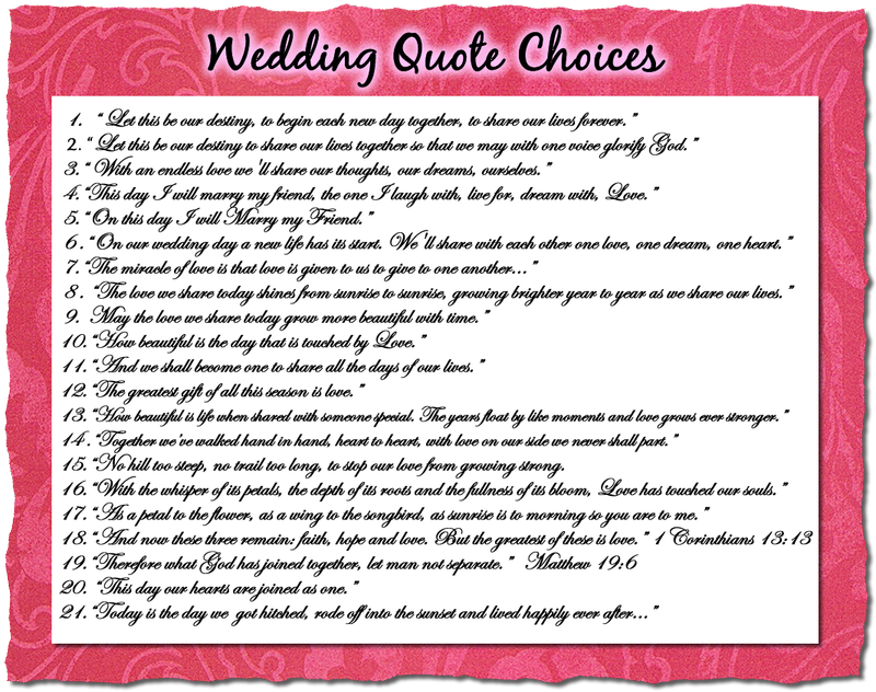 Quotes about Weddings funny (27 quotes)