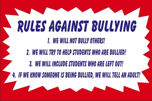 bullying a rule to be broken Bullying free drama free rules are meant to be broken chapter 4 warnings: m i walked into the house to find liam's bedroom door open.