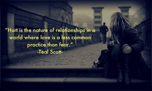Quotes About Fear In Relationships 34 Quotes