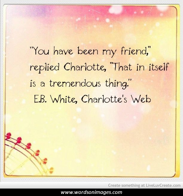 quotes about charlotte s web quotes