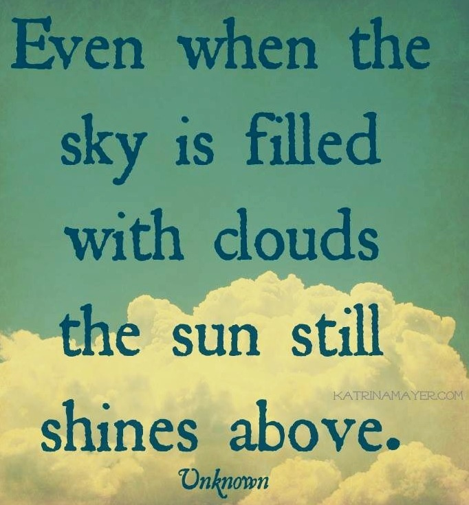 quotes about above the clouds quotes