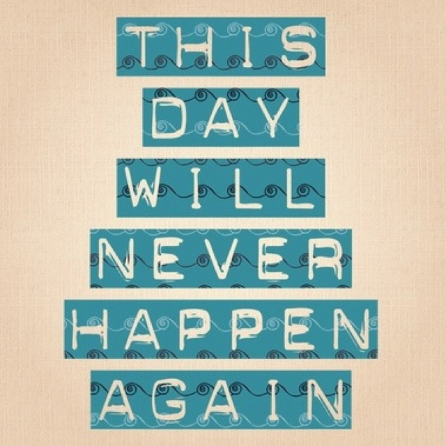 Quotes about Unforgettable day (13 quotes)
