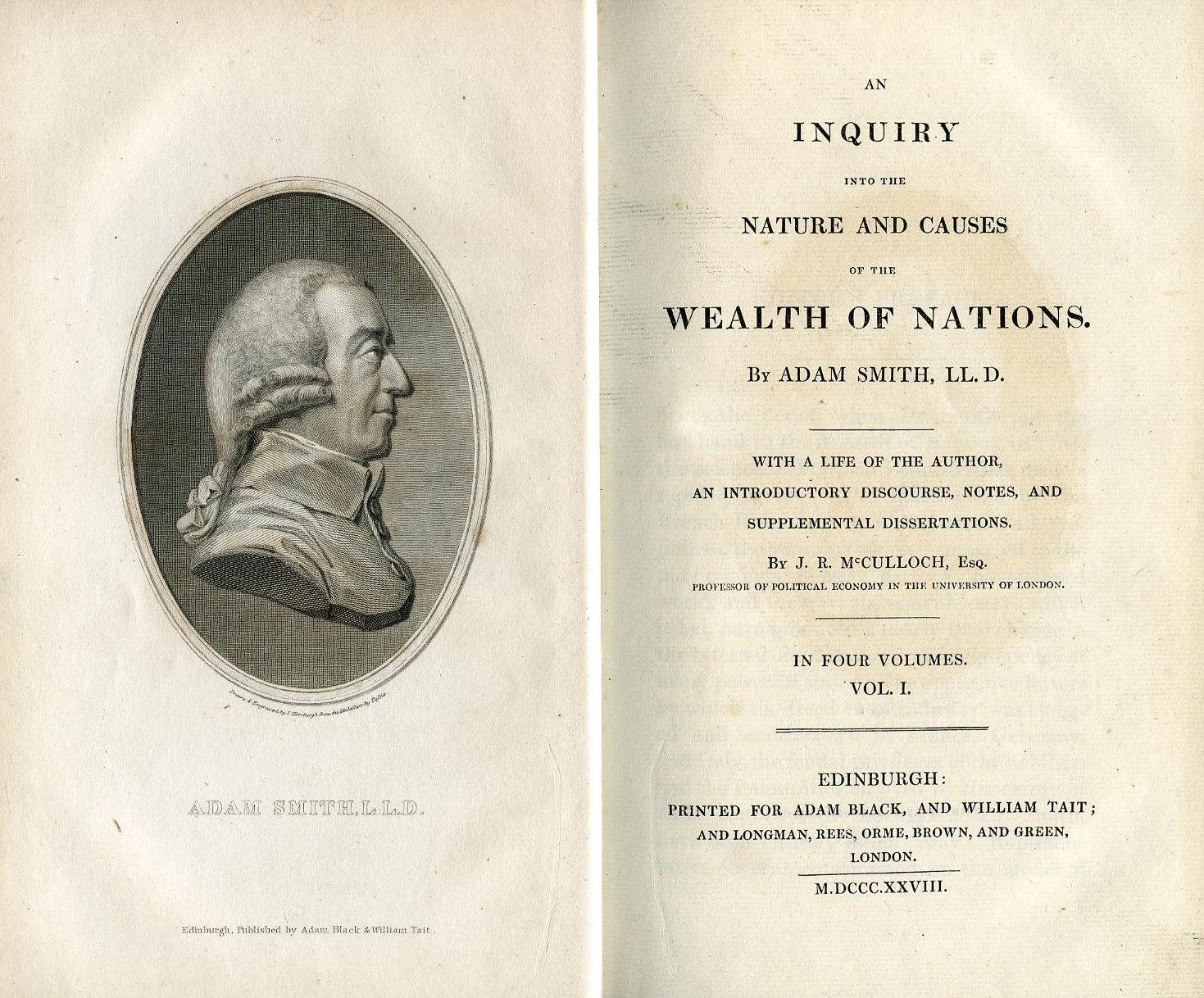 the wealth of nations essay An inquiry into the nature and causes of the wealth of nations lesson plan includes 60 short essay assignments that require students to understand and interpret the work.