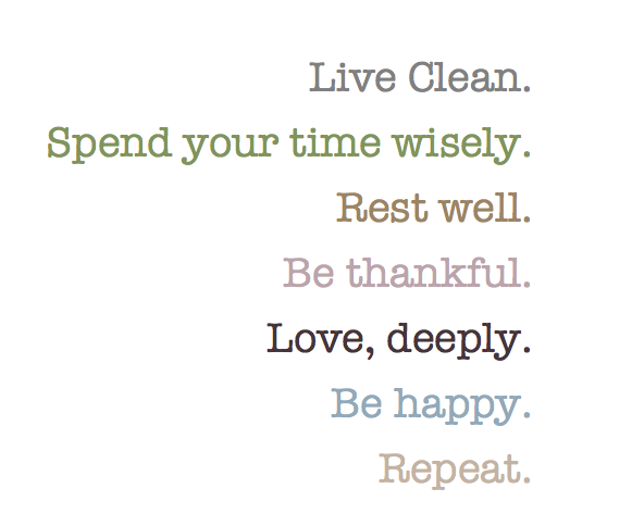 Quotes About Living Clean Lives 19 Quotes