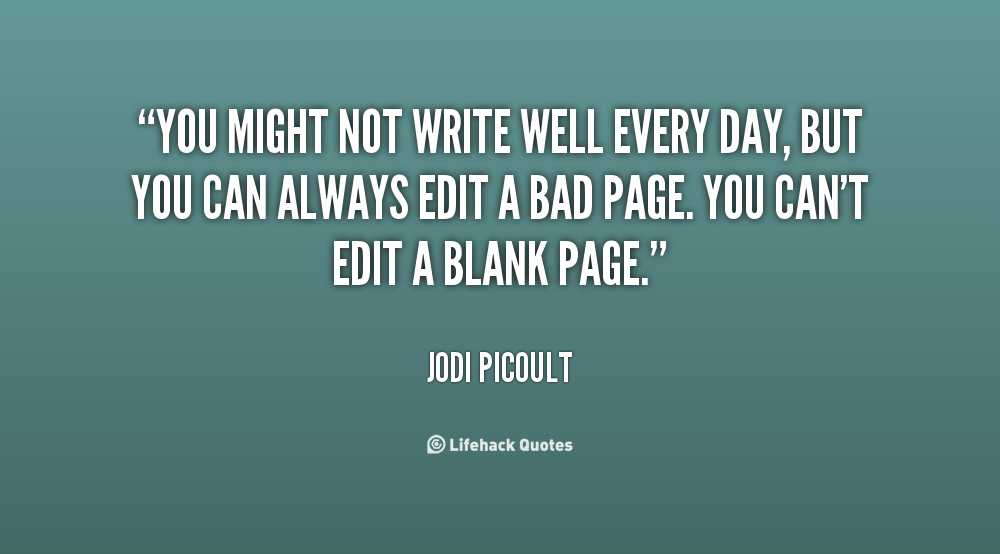 quotes about picture editing quotes