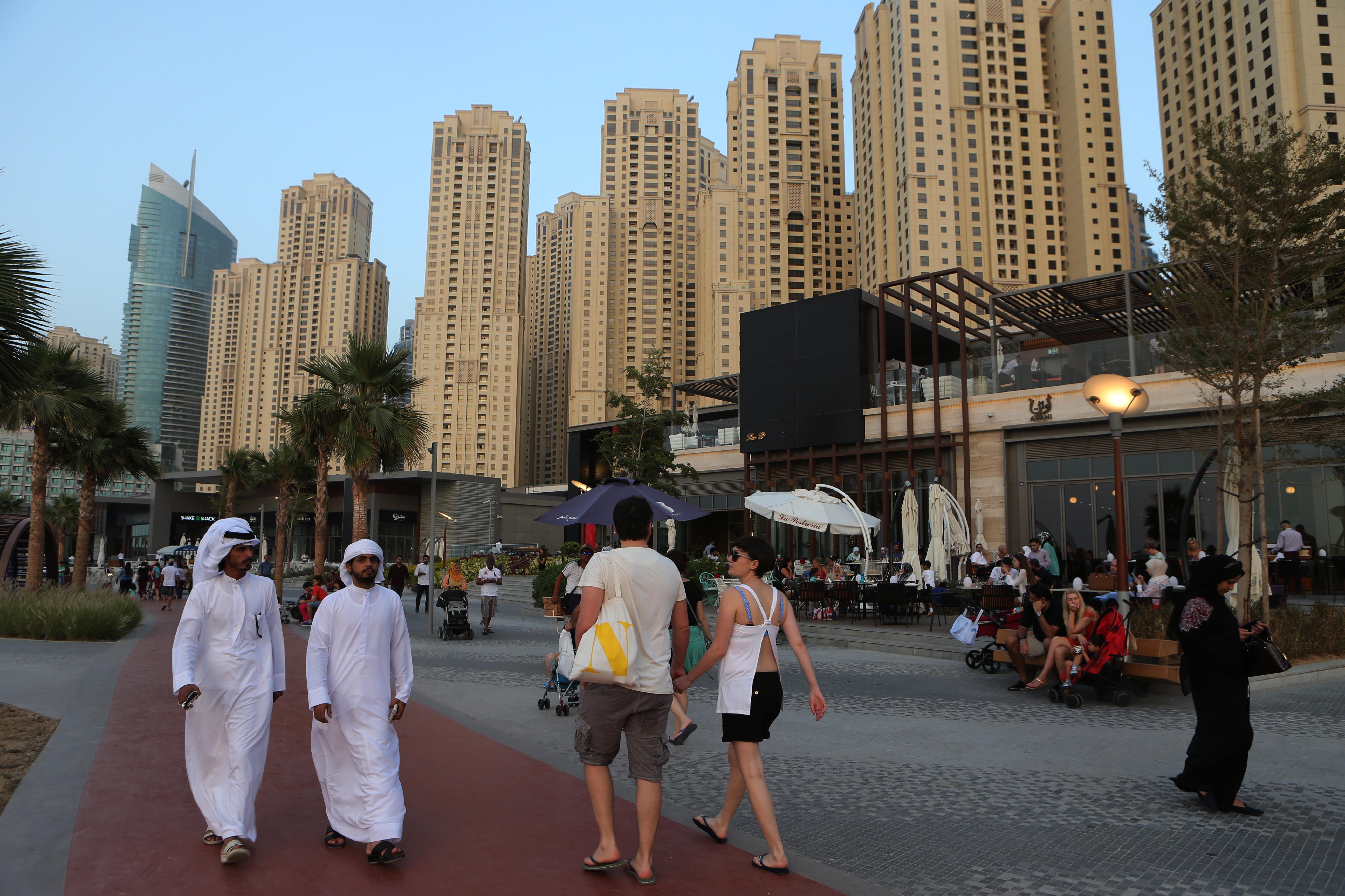 Expat dátumové údaje lokalít Dubaj