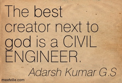 Quotes about Civil engineering (32 quotes)