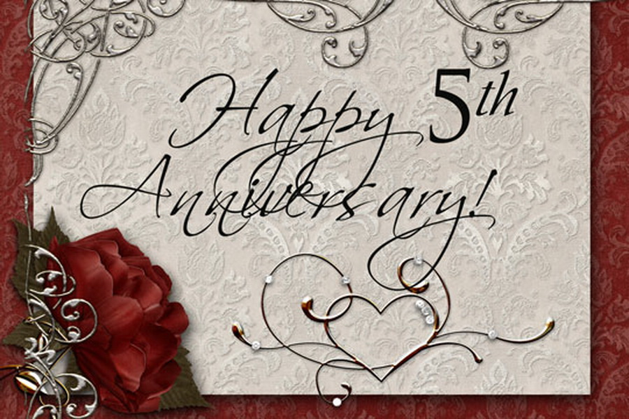 Quotes about Fifth Anniversary (43 quotes)