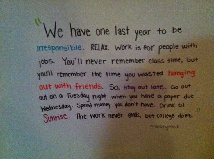 Quotes about College senior year (64 quotes)