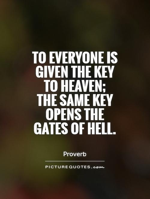 Quotes About Gates Of Heaven 48 Quotes