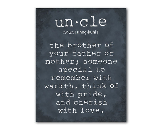 Image result for beautiful image uncle and nephew words