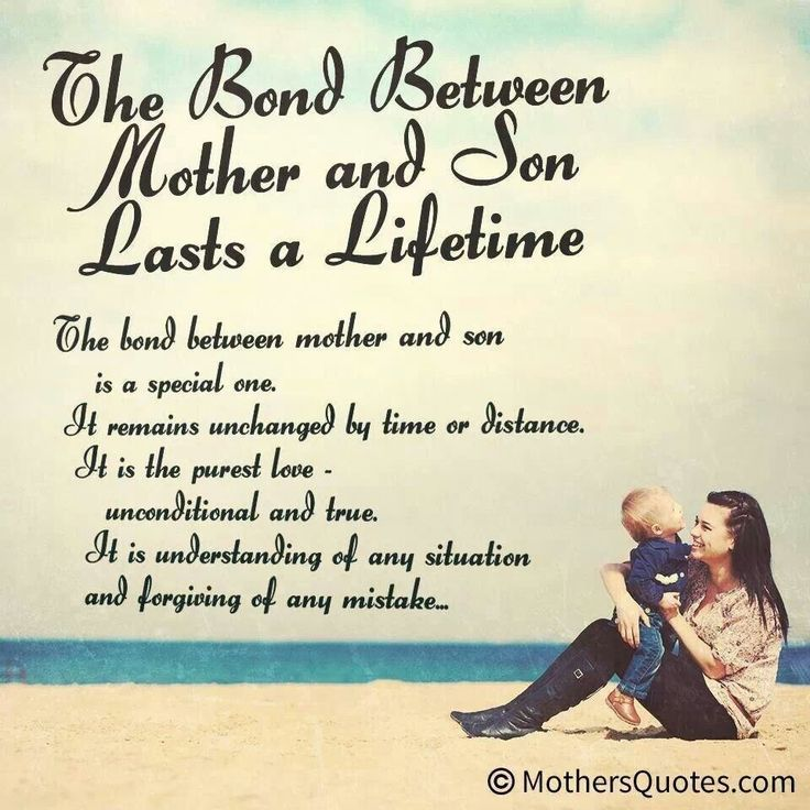 Quotes about Mom from son (21 quotes)