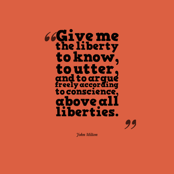 Quotes About Limiting Freedom Of Expression 16 Quotes