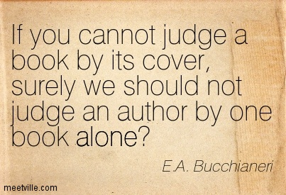 you cannot judge a book by its cover You can't judge a book by its cover is a regular feature at a bookworm's world posted by luanne at 7:00 am email this blogthis share to twitter share to.