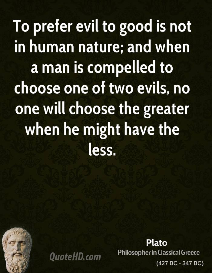 quotes about man s evil nature quotes