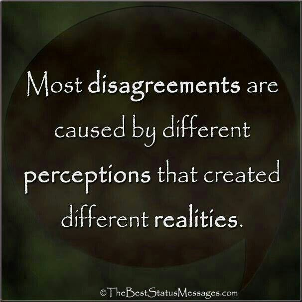 Quotes About Perception And Relationships 23 Quotes