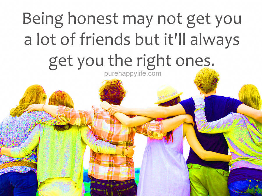friendship and honesty