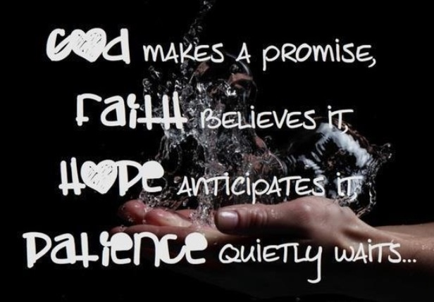 Lovely Quotes About Patience And Faith Great Ideas