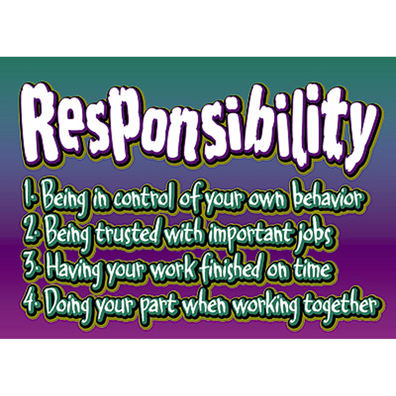 the importance of responsibility in life Punctuality punctuality is a very important part of military life for several more about the importance of punctuality and responsibility importance of.