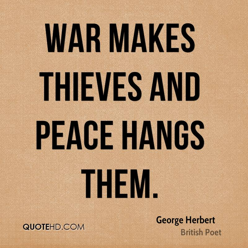 essay on peace or war