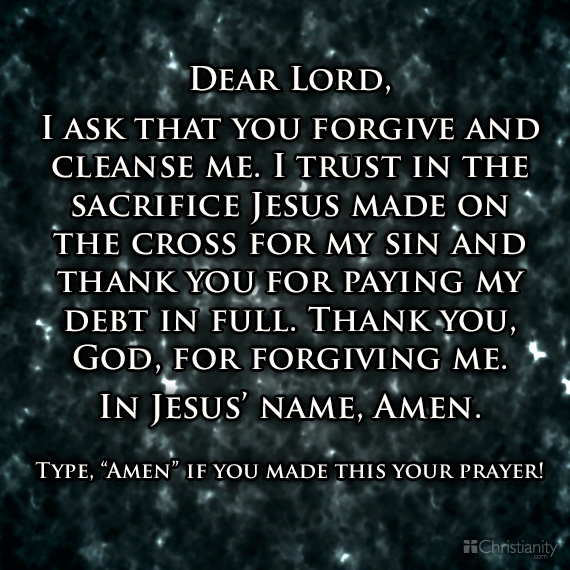 lord god forgive me essay How do i accept jesus as my savior lord jesus, i ask you to forgive my sins and save me from eternal separation from god by faith, i accept your work and death.